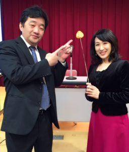 主催者様と太田章代の写真